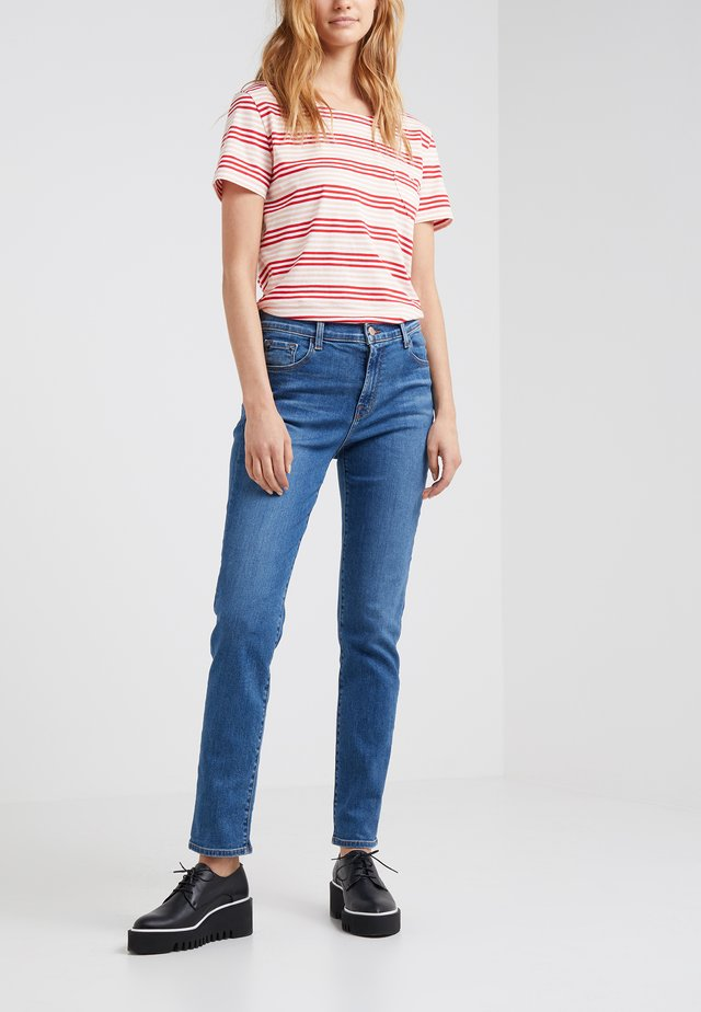 RUBY LONG RISE CROP CIGARETTE - Jeans a sigaretta - lovesick