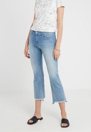 SELENA MID RISE - Jeans Bootcut - blue denim