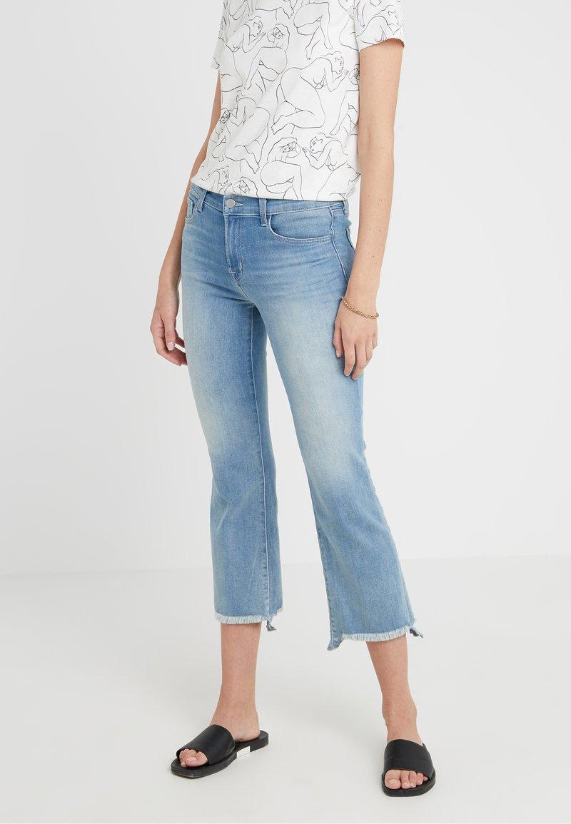 J Brand - SELENA MID RISE - Bootcut jeans - blue denim