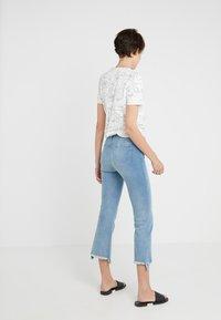 J Brand - SELENA MID RISE - Bootcut jeans - blue denim - 2