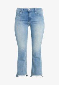 J Brand - SELENA MID RISE - Bootcut jeans - blue denim - 4