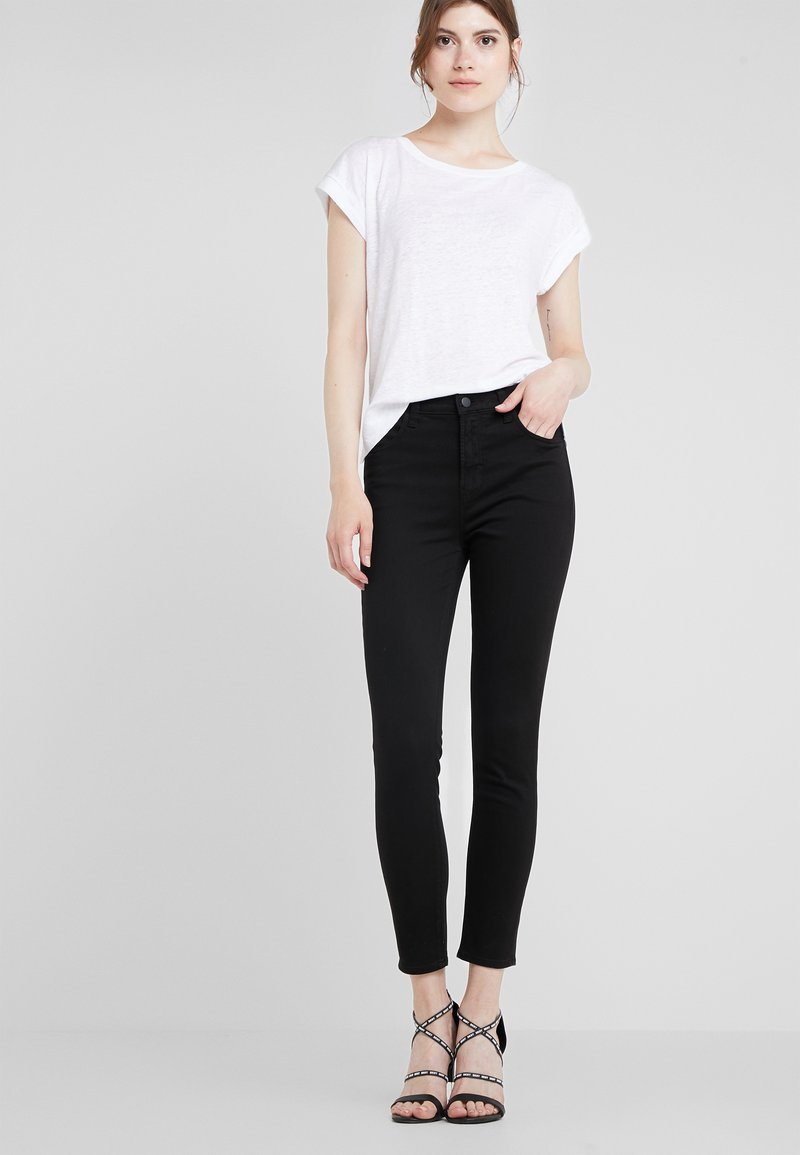 J Brand - ALANA HIGH RISE  - Jeans Skinny Fit - black