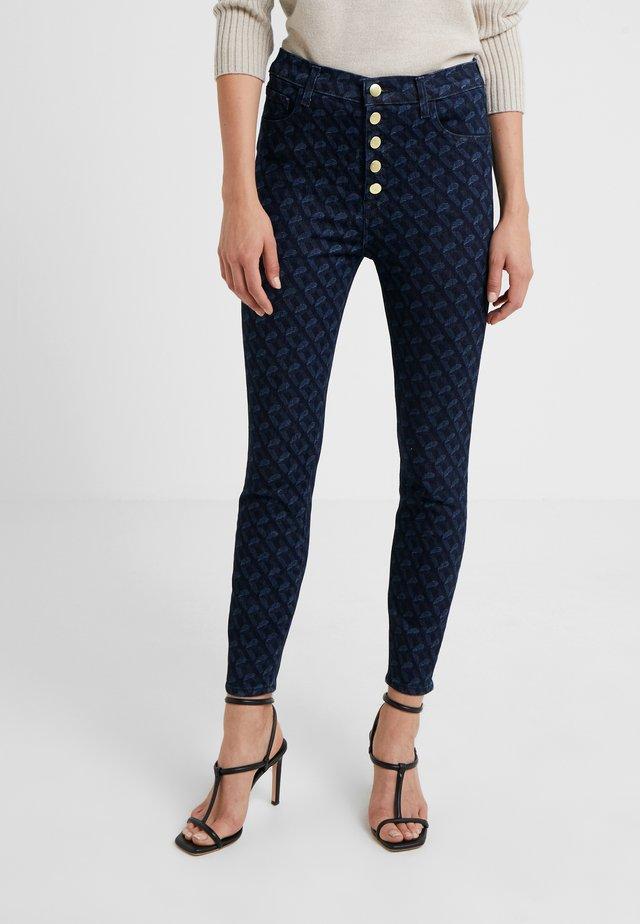 LILLIE CROP - Jeans Skinny Fit - indigo