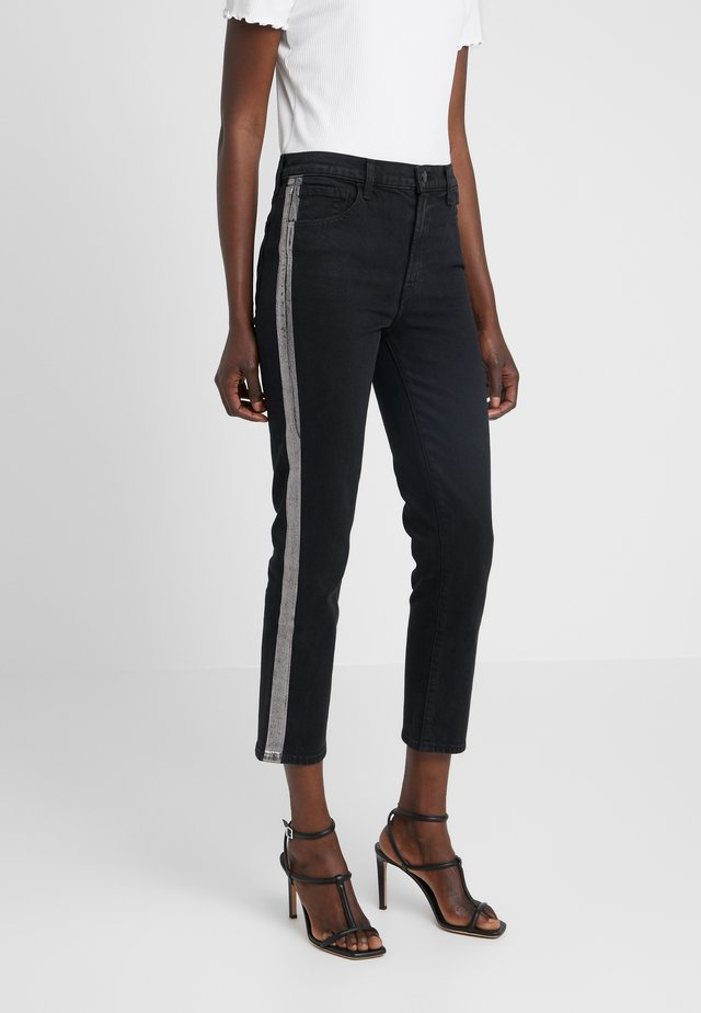 RUBY HIGH RISE CROP CIGARETTE - Straight leg jeans - rapid