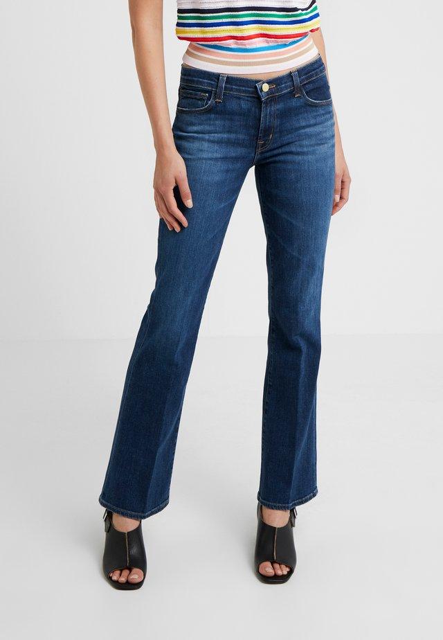 SALLIE  - Flared jeans - arcade