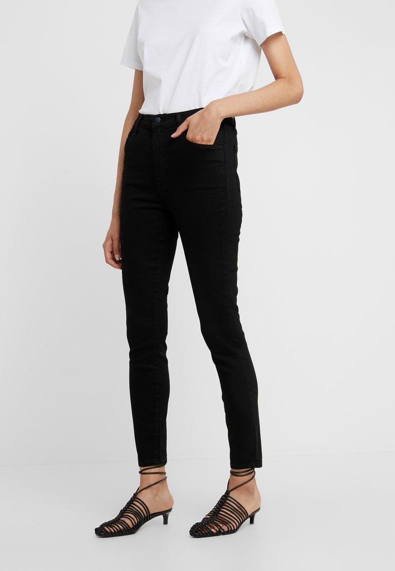 J Brand - LEENAH HIGH RISE ANKLE - Jeans Skinny Fit - vesper