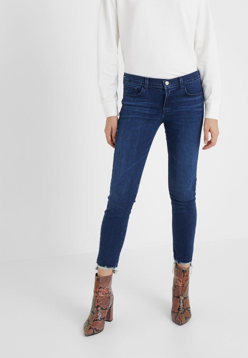 J Brand - Jeans Skinny Fit - nightshade destruct