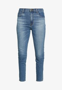 J Brand - LEENAH HIGH RISE - Skinny džíny - blue denim - 5