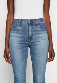 J Brand - LEENAH HIGH RISE - Skinny džíny - blue denim - 6