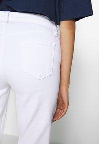 J Brand - ADELE RISE - Jeans Straight Leg - white - 3
