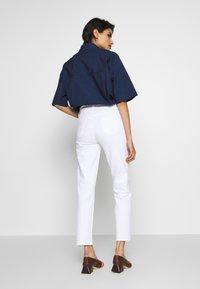 J Brand - ADELE RISE - Jeans Straight Leg - white - 2