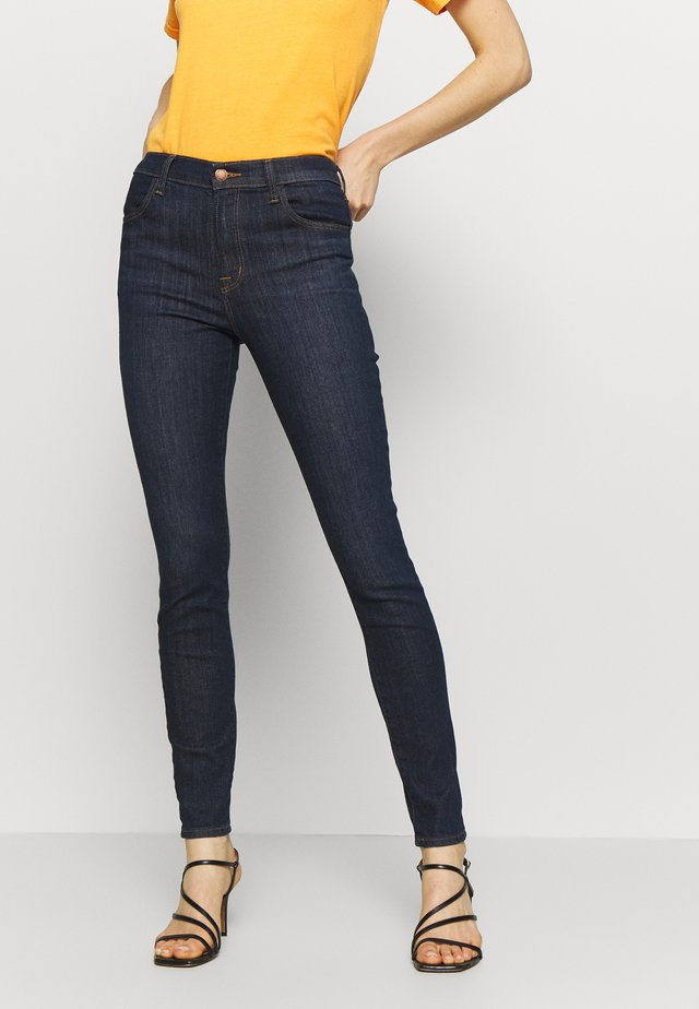 MARIA HIGH RISE  - Skinny-Farkut - blue denim