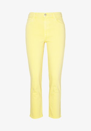RUBY HIGH RISE CROP CIGARETTE - Jeansy Straight Leg - jasmine