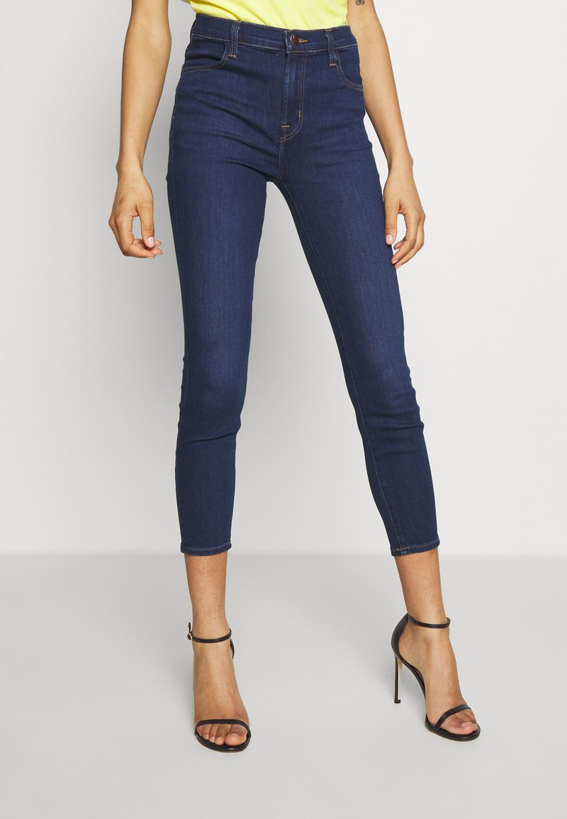 J Brand - ALANA HIGH RISE CROPPED - Jeans Skinny Fit - moro