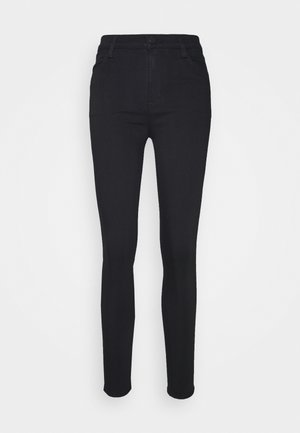 MARIA HIGH RISE - Skinny džíny - eco seriously black