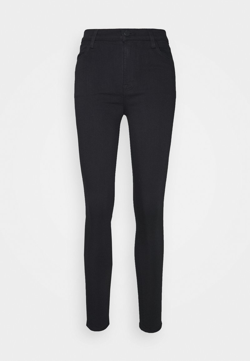 J Brand - MARIA HIGH RISE - Jeansy Skinny Fit - eco seriously black