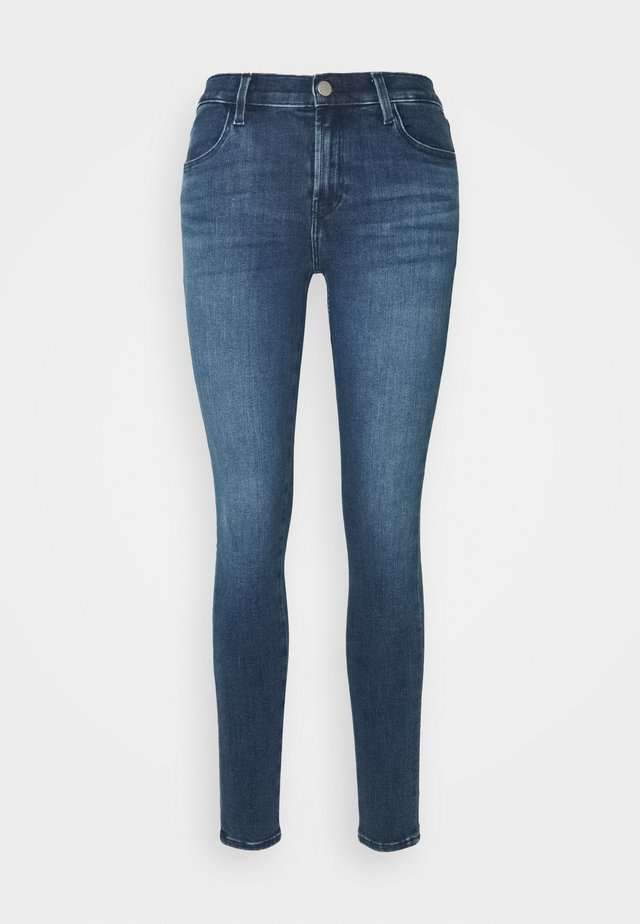 SOPHIA MID RISE SUPER SKINNY - Jeans Skinny Fit - blue denim