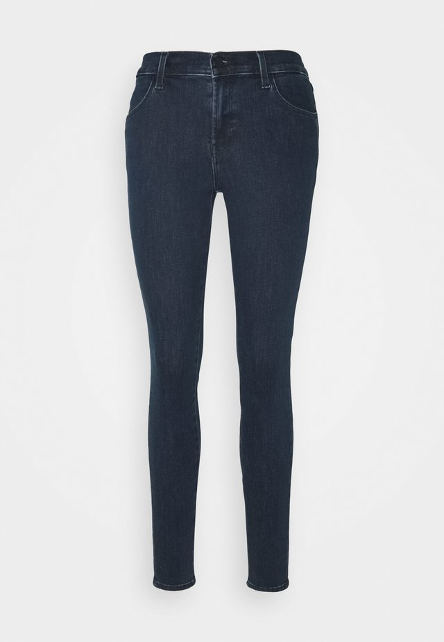 SOPHIA MID RISE SUPER SKINNY - Skinny džíny - dark blue
