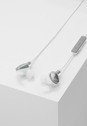 EVEREST WIRELESS IN EAR HEADPHONES - Headphones - silver-coloured