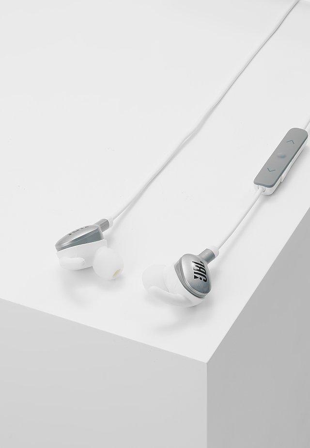 EVEREST WIRELESS IN EAR HEADPHONES - Koptelefoon - silver-coloured