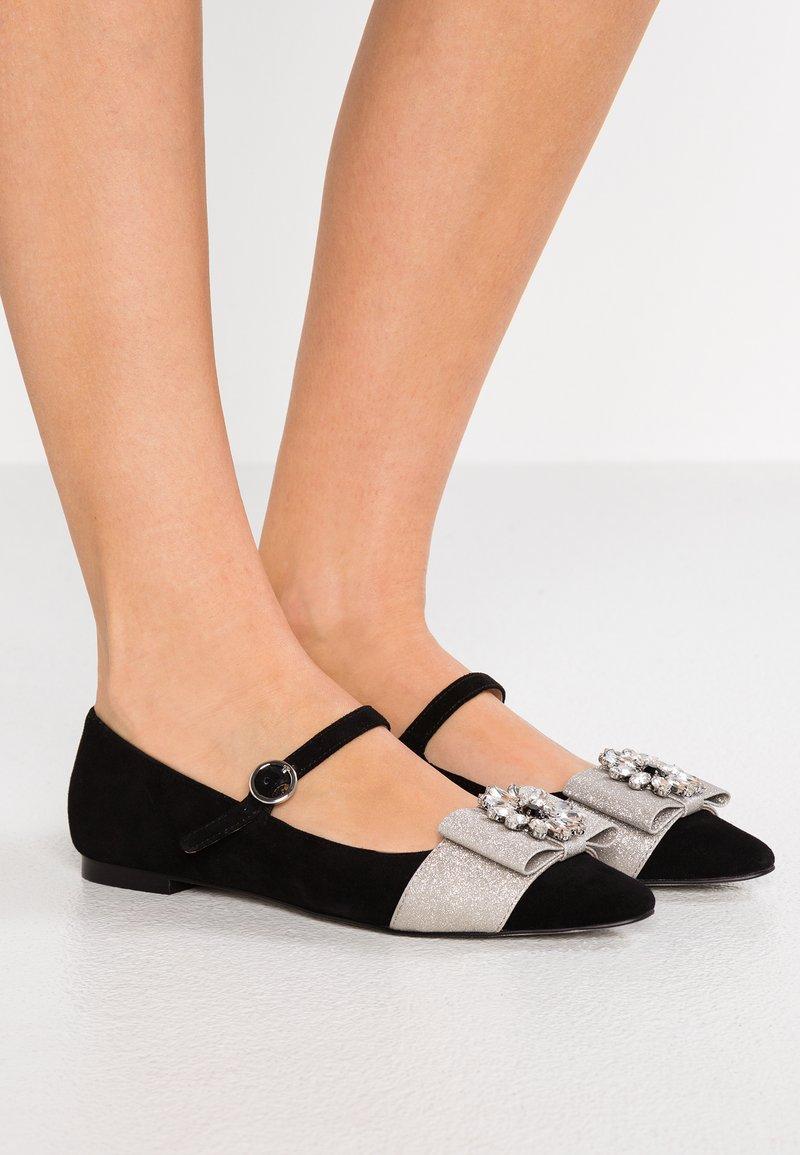 J.CREW - MARINA MARY JANE - Ballet pumps - black