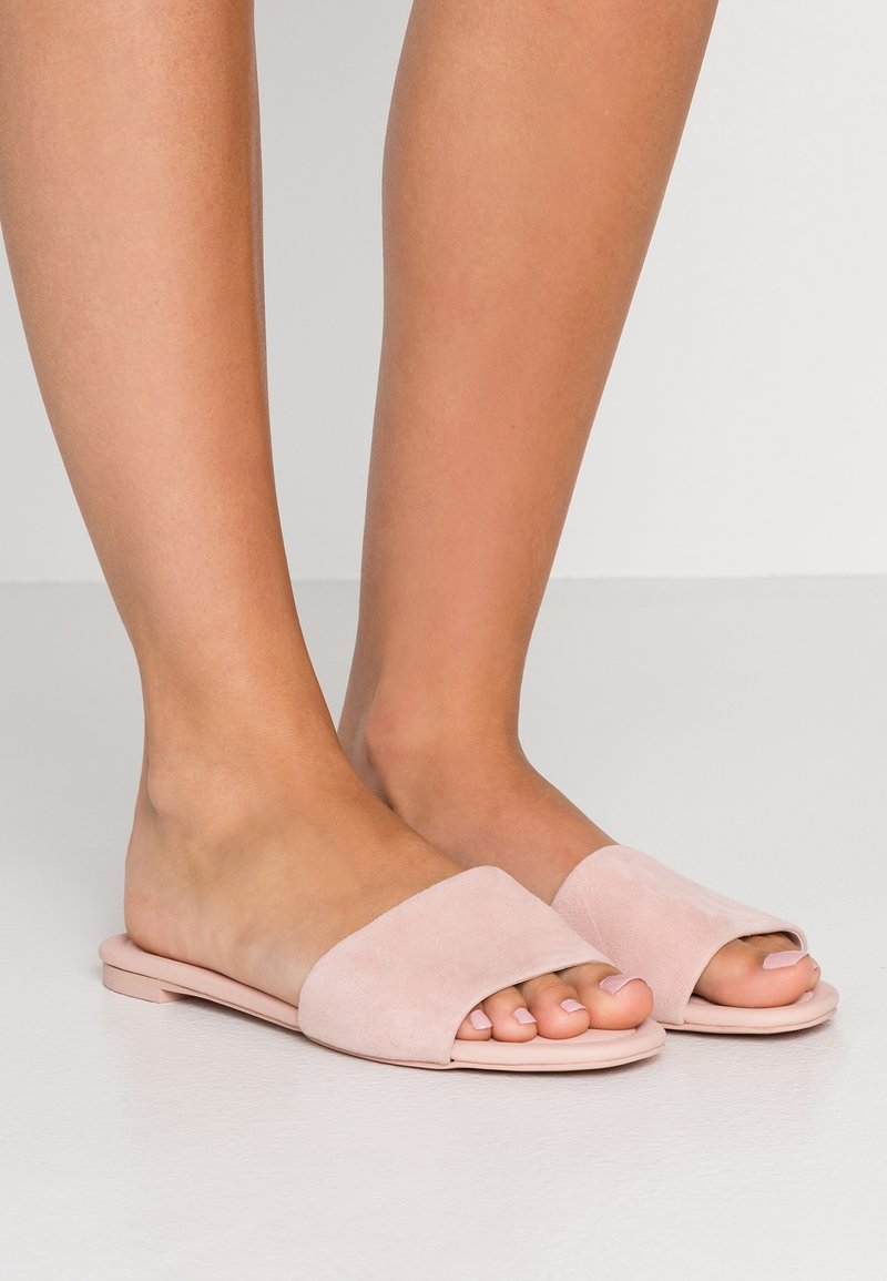 J.CREW - BOTTOM CORA - Sandalias planas - subtle pink