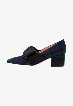 BLACKWATCH LARGE BOWELLIE - Classic heels - navy/pine