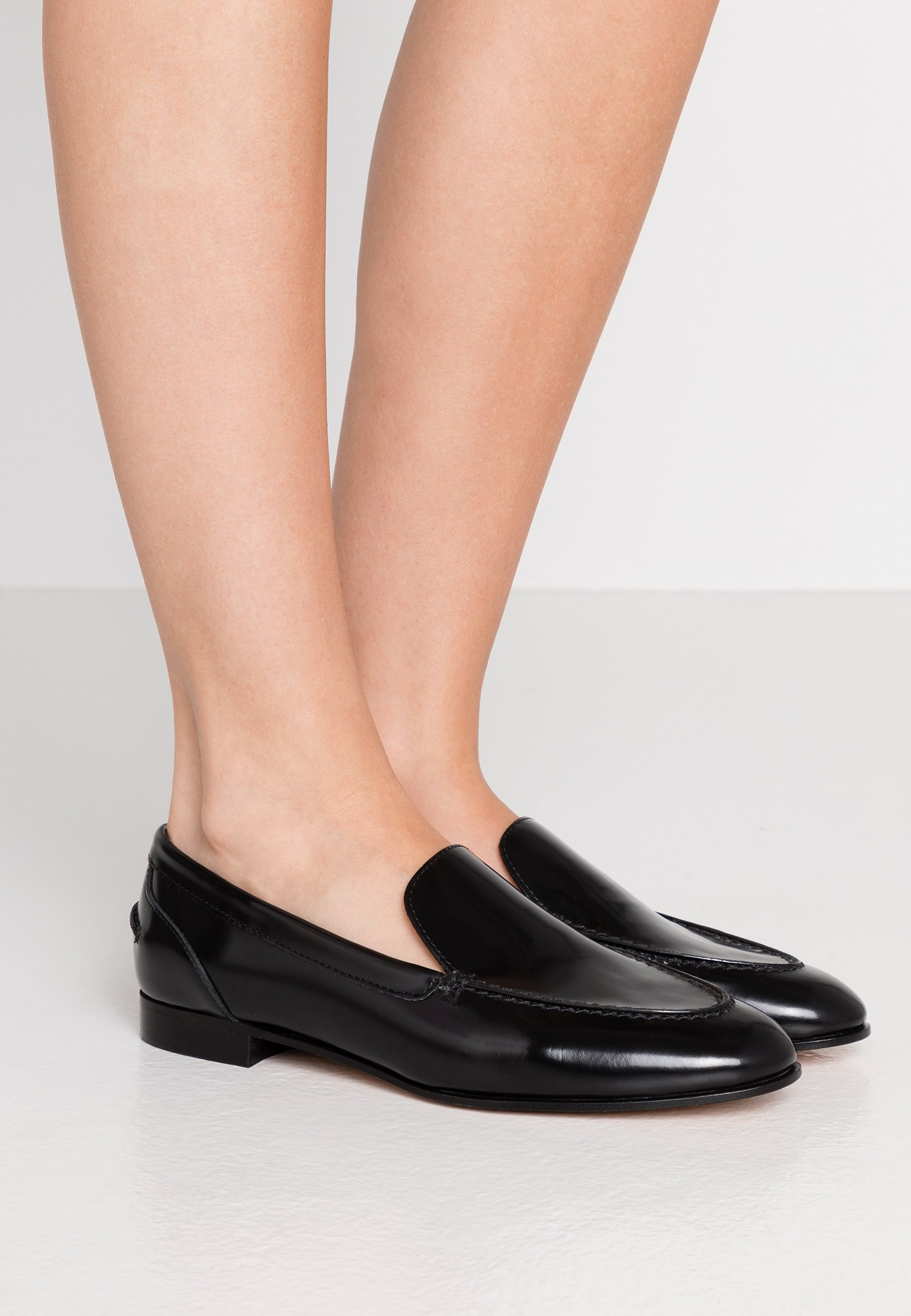 J.CREW NO TAB ACADEMY LOAFER - Slippers - black