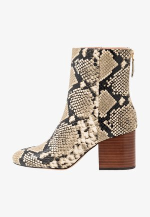 SADIE BOOT WITH STACK - Classic ankle boots - natural