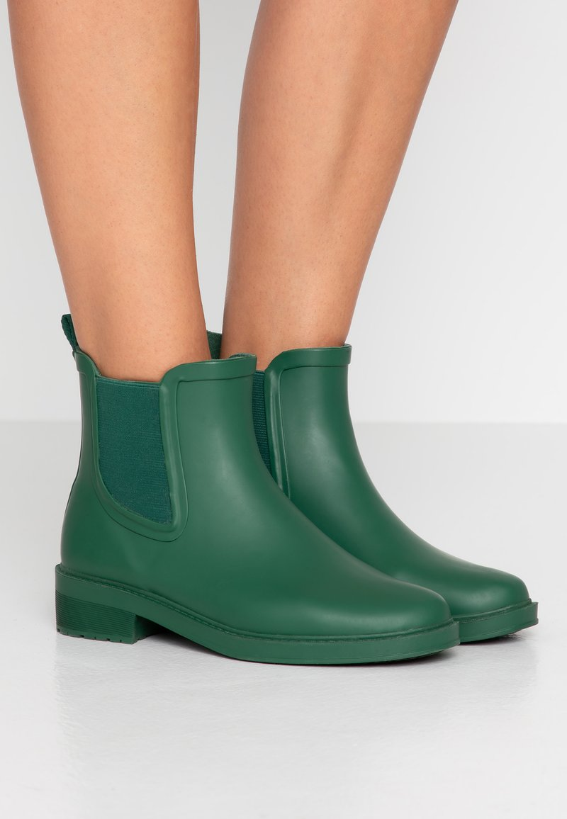 J.CREW - LOW CHELSEA RAINBOOT - Wellies - frosty olive