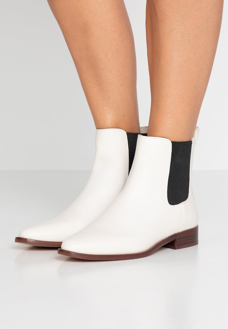 J.CREW - CHELSEA BOOT - Classic ankle boots - white