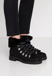 J.CREW - NORDIC - Winter boots - black - 0