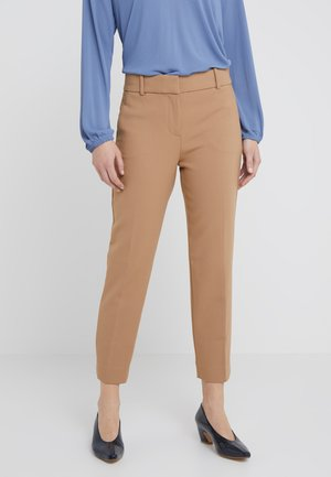 CAMERON PANT SEASONLESS STRETCH - Trousers - heather saddle