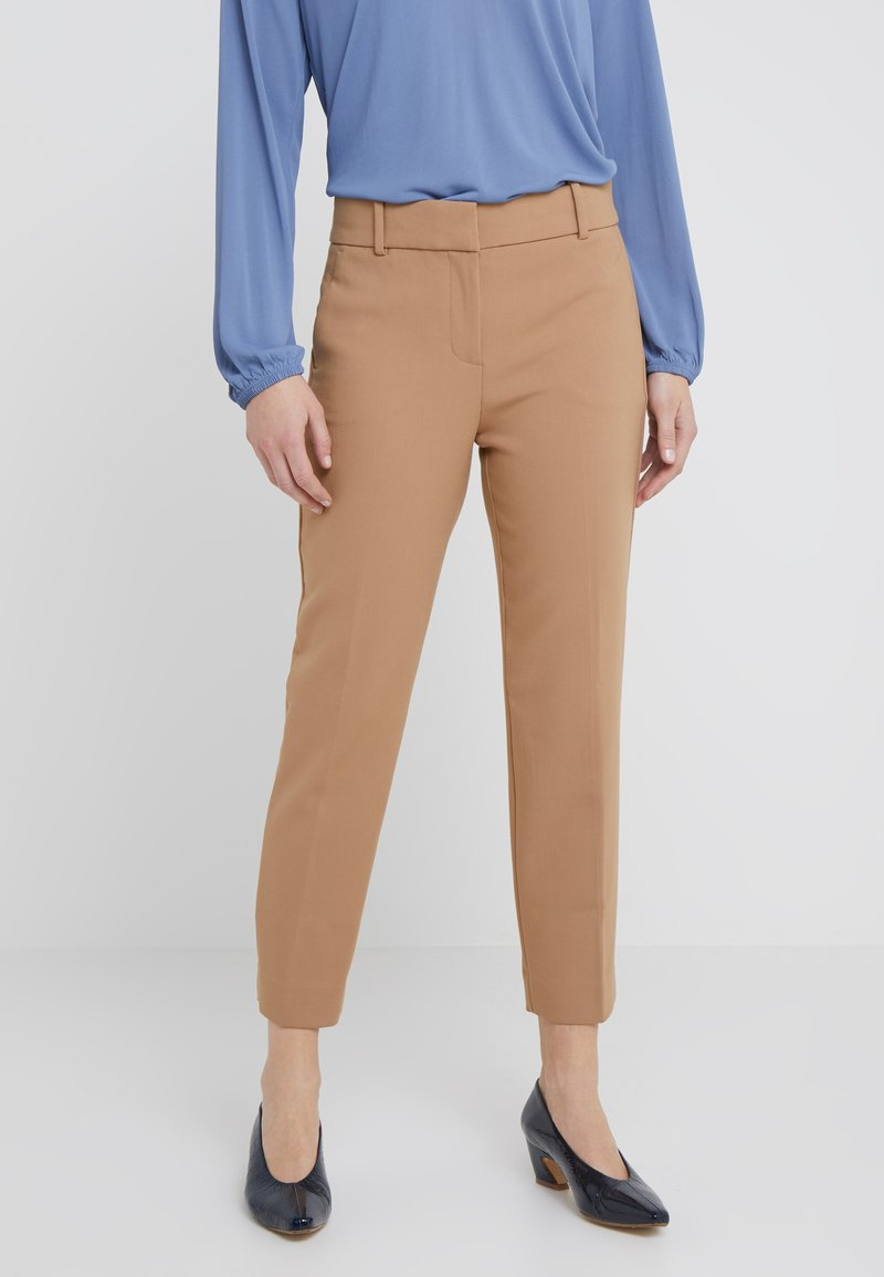 J.CREW - CAMERON PANT SEASONLESS STRETCH - Trousers - heather saddle