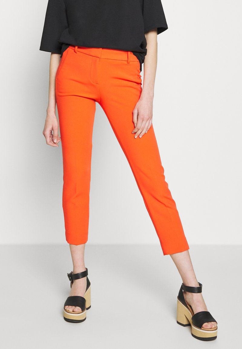 J.CREW - CAMERON PANT SEASONLESS STRETCH - Trousers - brilliant sunset