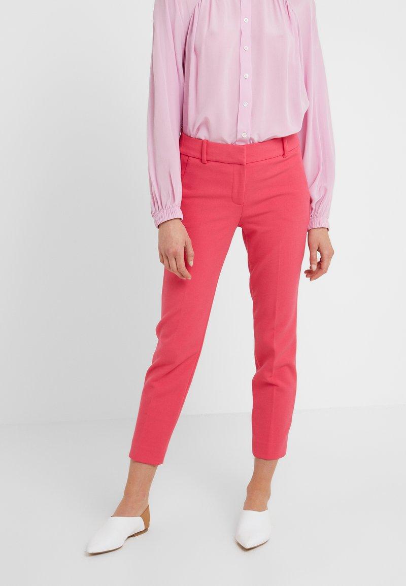 J.CREW - CAMERON PANT SEASONLESS STRETCH - Pantalon classique - bright rose