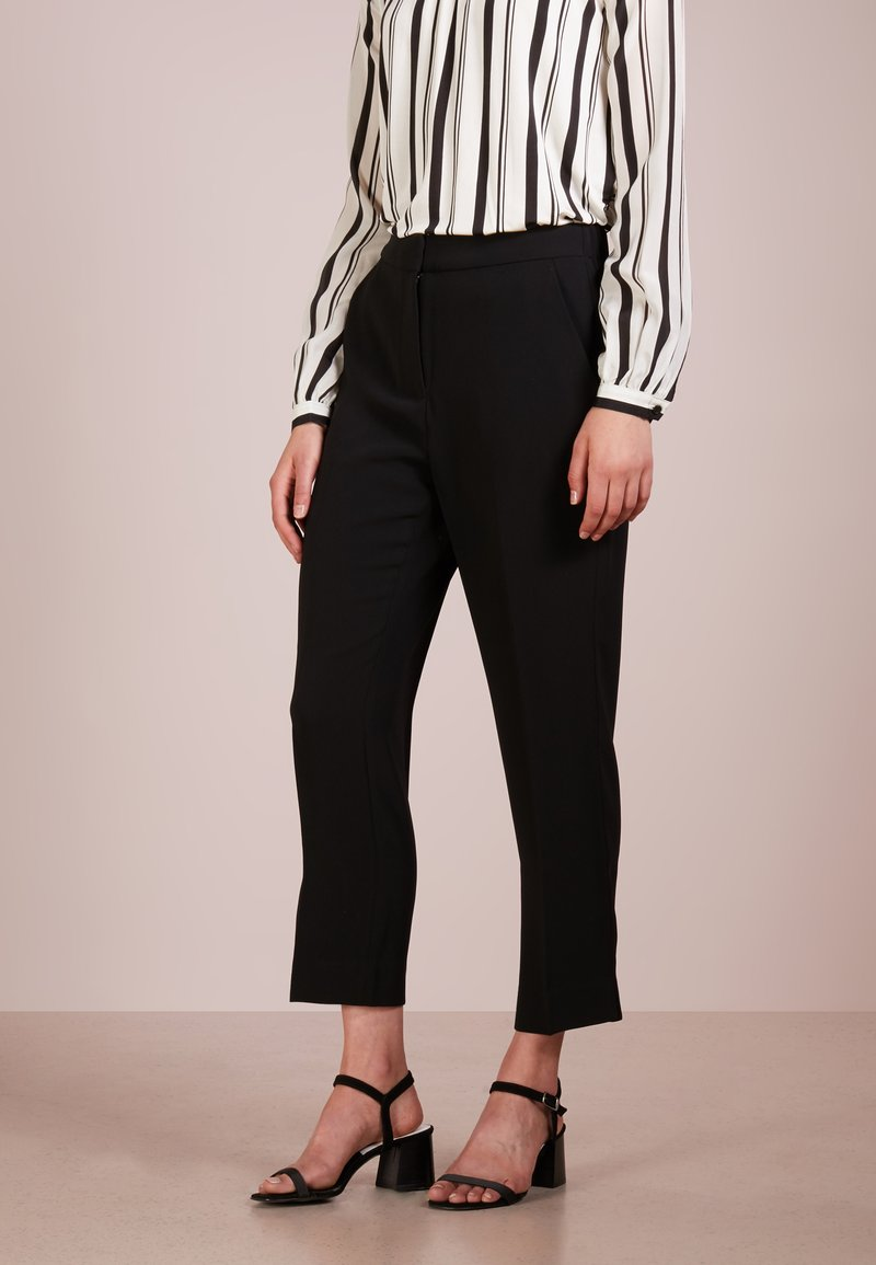 J.CREW - NEW EASY PANT - Trousers - black