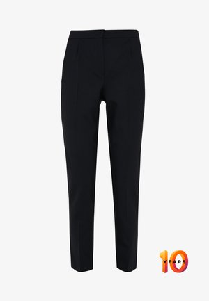 PLEATED PANTS - Pantalon classique - deepest navy