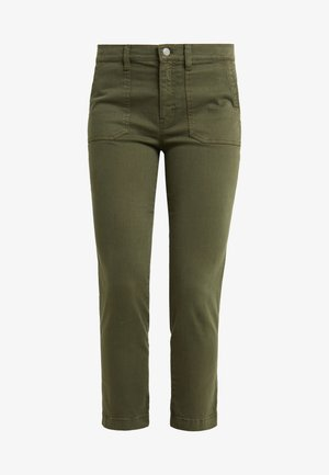 VINTAGE - Trousers - loden green