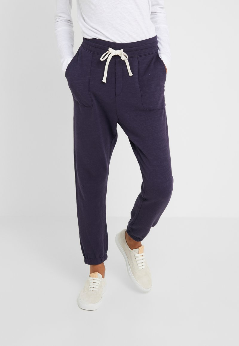J.CREW - MALIBU TERRY PANT - Pantalon de survêtement - navy