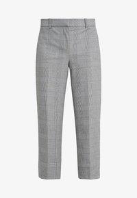 J.CREW - Spodnie materiałowe - black / blue / ivory - 4