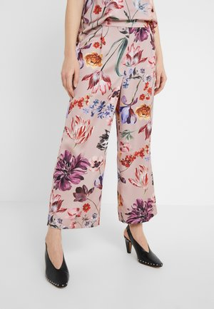 Trousers - blush multi