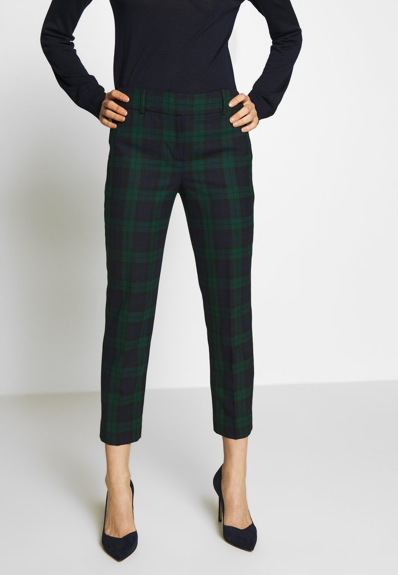J.CREW - CAMERON IN BLACKWATCH - Trousers - navy multi