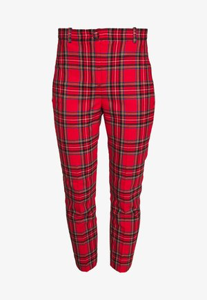 CAMERON IN GOOD TIDINGS - Pantalones - red/black/multi