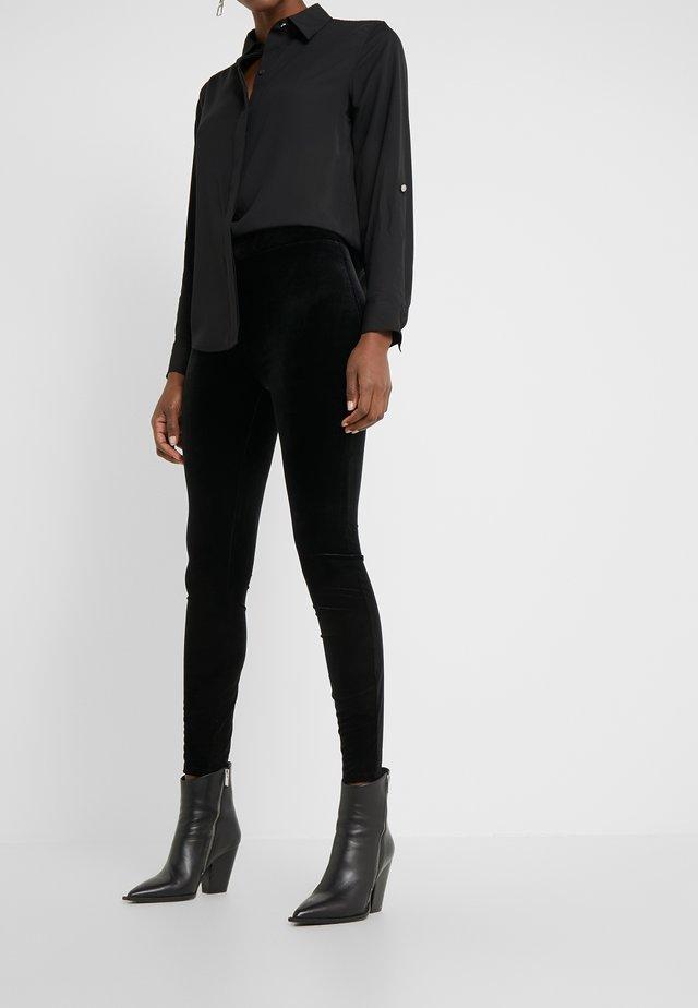 VELVET  - Leggings - black