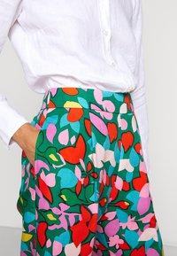 J.CREW - TARYN PANT LEAFY - Pantaloni - purple/green - 3