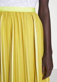 J.CREW - DEE SKIRT STRIPED - A-line skirt - golden citrus - 7