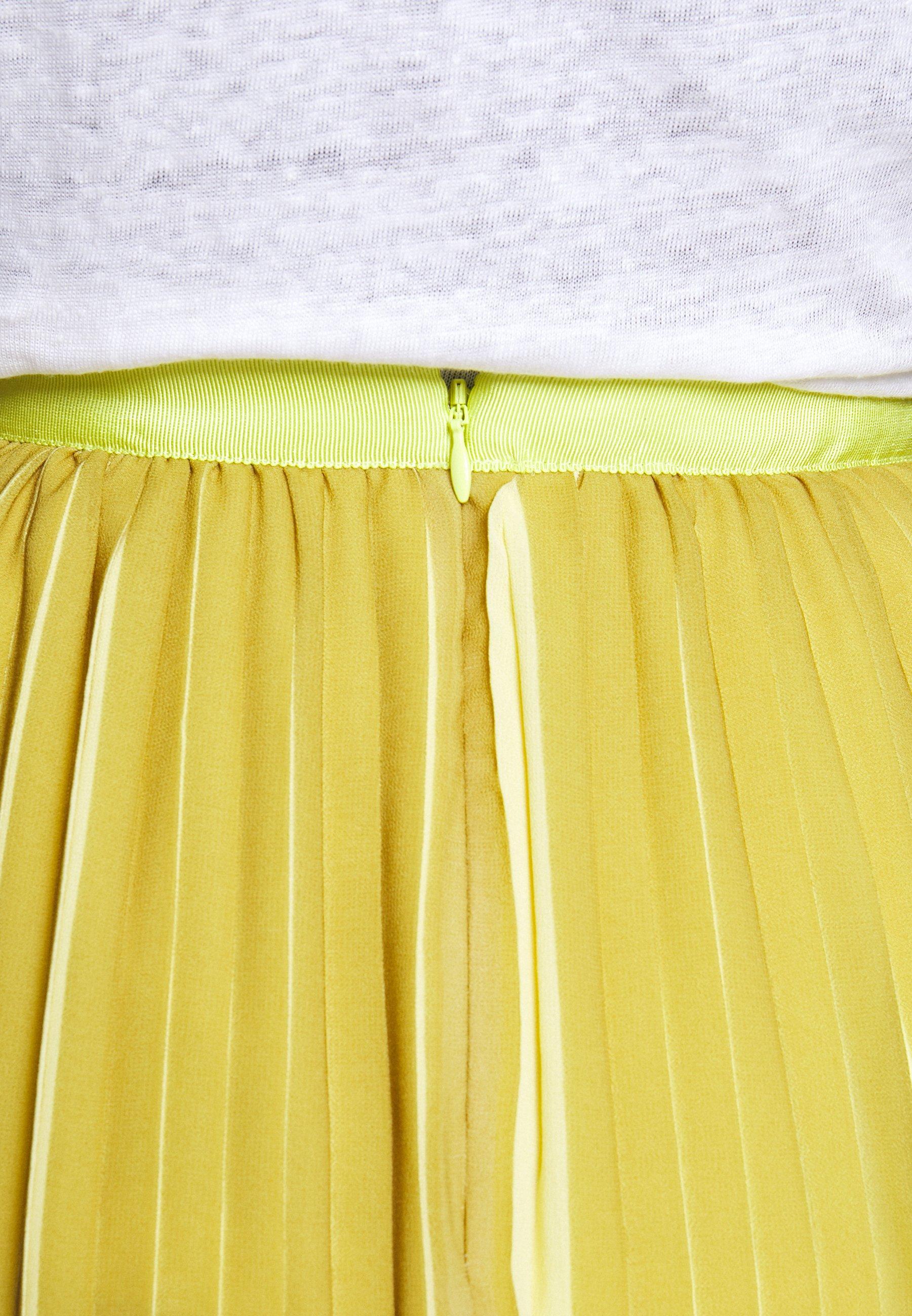 J.crew Dee Skirt Striped - A-linien-rock Golden Citrus Black Friday