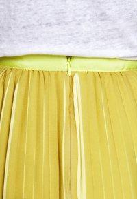 J.CREW - DEE SKIRT STRIPED - A-line skirt - golden citrus - 3