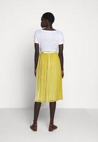 J.CREW - DEE SKIRT STRIPED - A-line skirt - golden citrus - 2